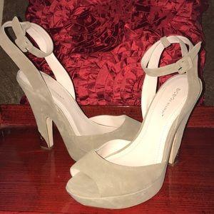 BCBG Suede heels. 9.5.